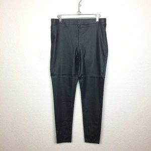 MAURICE'S Faux Leather Skinny Leggings Size L